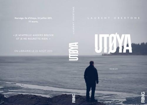 Couverture d'Utoya