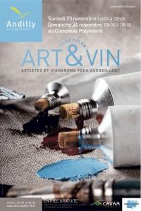 AFFICHE 40x60 ART&VIN 2013 - copie 3