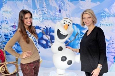 Avant-première de LA REINE DES NEIGES à l'occasion de l'ouverture de la saison de Noël de Disneyland Paris le samedi 9 novembre