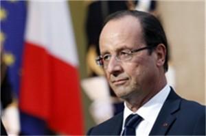 Francois Hollande un président dans la tourmente