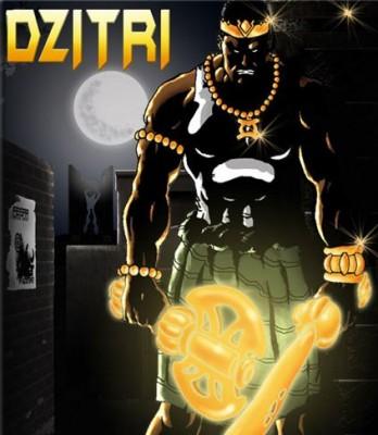 Dzitri, super-héros Africain de KanAd