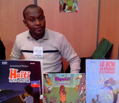 KanAd auteur BD Togolais