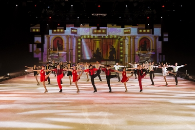 Holiday on Ice kick line