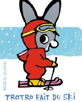 Trotro fait du ski aux ditions gallimard - Trotro fait de la musique ...