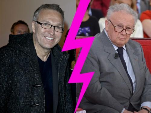 Laurent Ruquier et Philippe Bouvard