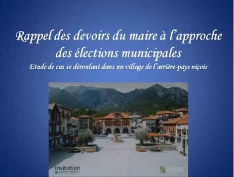 election municipales