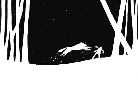 loup noir page
