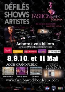 Première Fashion Week à Bordeaux
