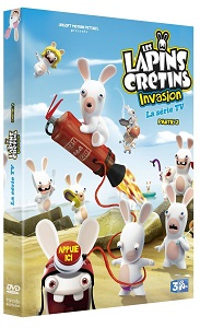 Les Lapins Crétins Invasion, partie 2 en DVD