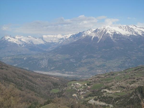Les Orres et la vallee d Embrum