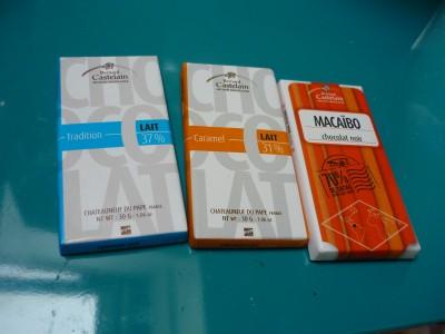 tablettes chocolat Castelain