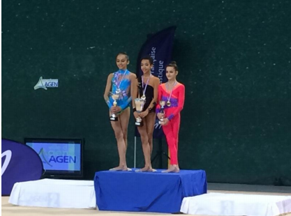 gymnastique agen podium gr