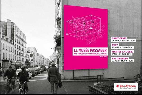 Le Musée passager - L'affiche