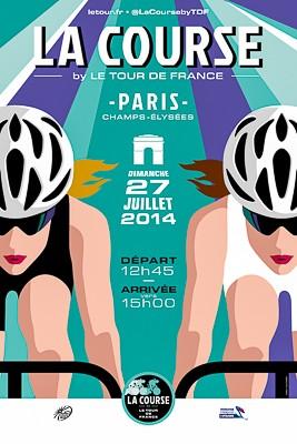 l'affiche de la Course by Le Tour de France