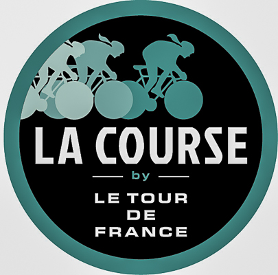 le logo de la Course By le Tour de France