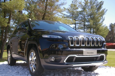 La jeep cherokee 2014