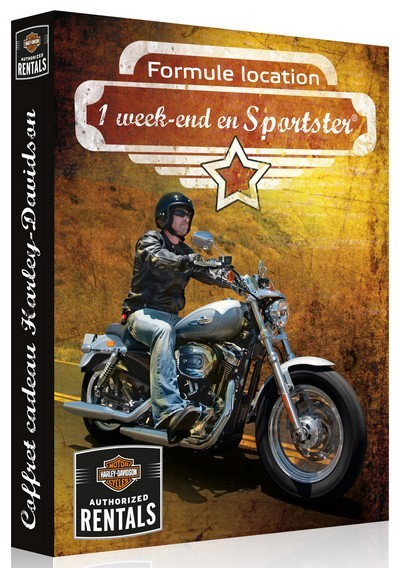 coffret wonder box Harley-Davidson