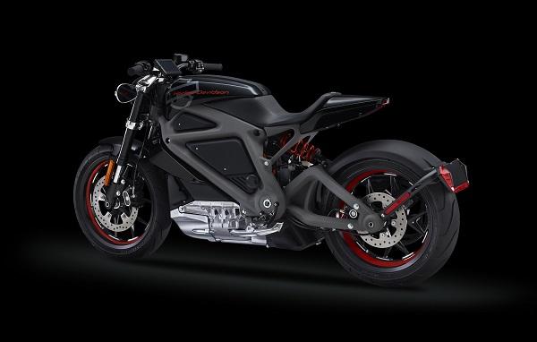 LiveWire-moto electrique Harley