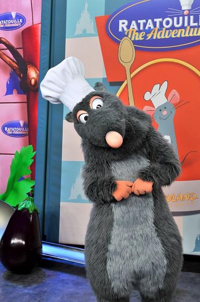 Ratatouille copyright Disneyland Paris