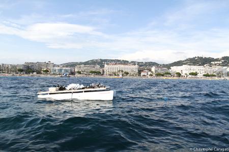 Petite barge d'artifice