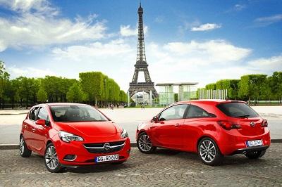 Nouvelle Opel Corsa Paris