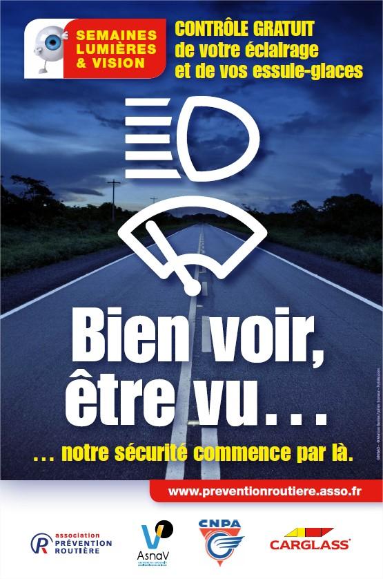CARGLASS - Affiche Lumière & Vision