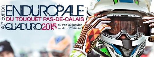 l'affiche de l'Enduropale 2015