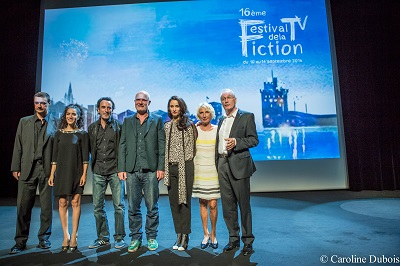 Le jury Festival de la fiction TV de La Rochelle