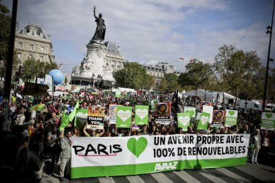 People's Climate March Paris
