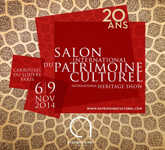 Salon international du patrimoine culturel for Salon du patrimoine