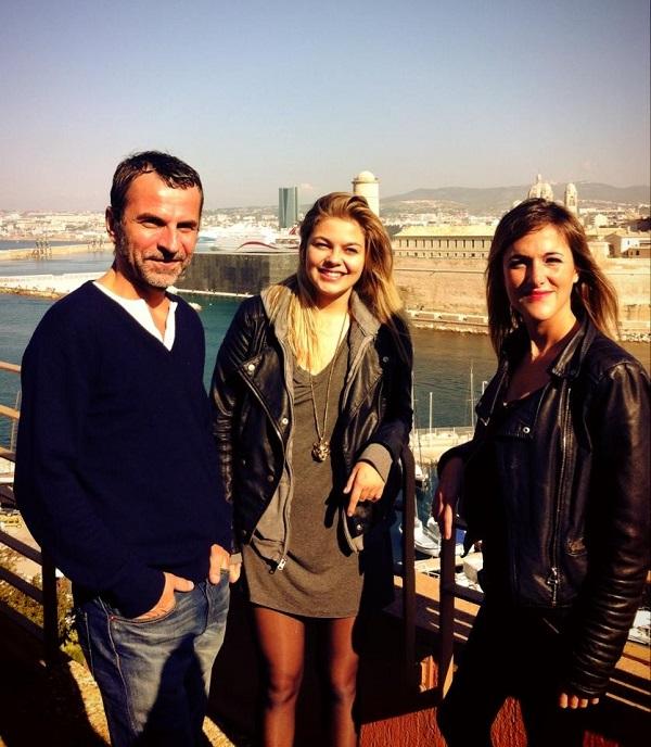 réalisateur (Eric Lartigau) ,la scénariste (Victoria Bedos) et la comédienne (Louane Emera)