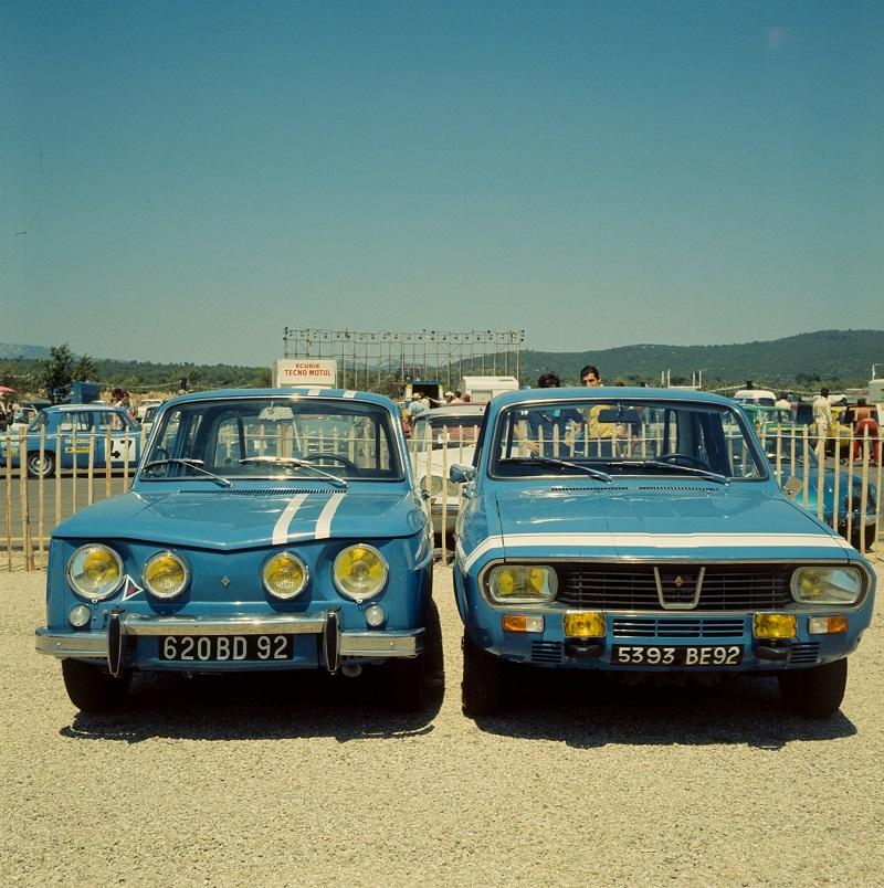 Loheac 50 ans de la Renault 8 Gordini