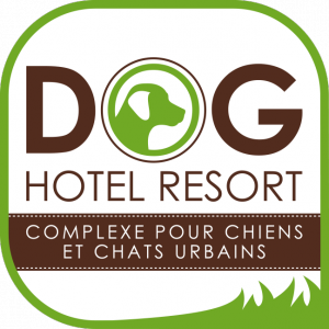 logo dog hotel resort