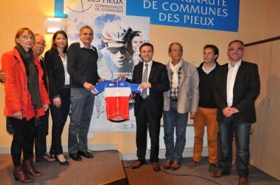 Photo présentation CDF avenir Route 2015