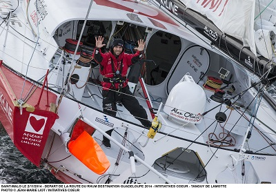 ROUTE DU RHUM 2014 - INITIATIVES COEUR