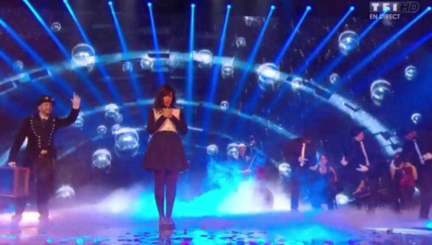 Indila sur scène