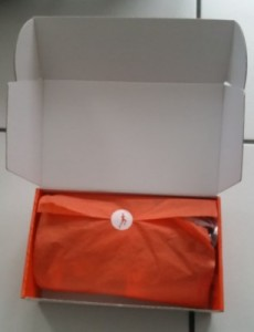 déballage de la boîte