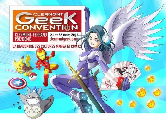 clermont geek affiche