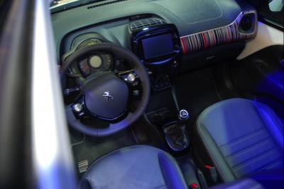 Intérieur Peugeot 108