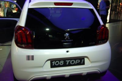 Peugeot 108 TOP arrière