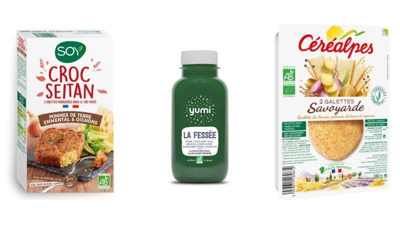 Repas sains, sans gluten, sans lactose, vegan