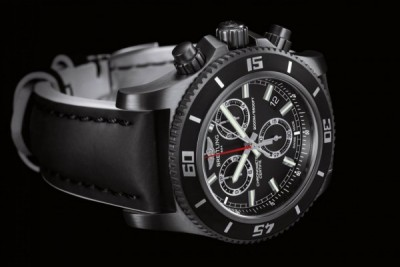Supercean Chronograph M2000 Blacksteel