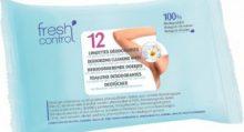 Fresh Control lingette déodorante 12 lingettes