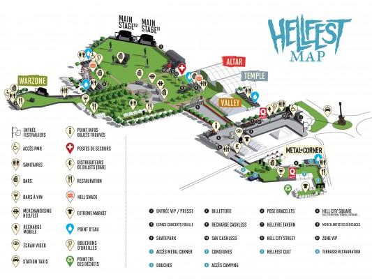 Hellfest 2015 Plan