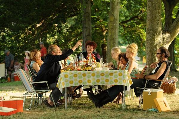 Le repas en famille