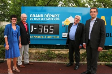 Grand depart Tour de France 2016 Manche