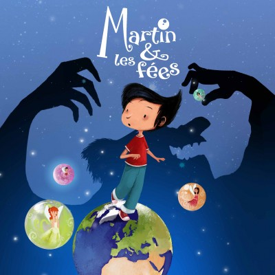Cover album Martin & les Fées