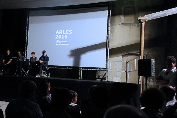 Un soir de projections (Arles)