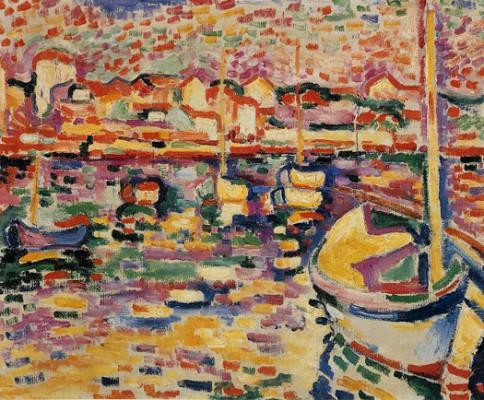 Le port de l'Estaque de Braque