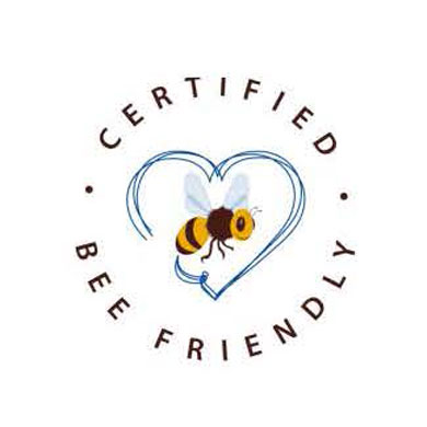 Label BEE FRIENDLY